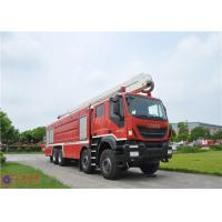 Quality IVECO Chassis Water Tower Fire Truck High Spraying 500mm Fording Depth wholesale
