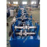 Quality Custom Metal C And Z Purlin Machine 30 - 80mm Flange High Grade Steel Shaft wholesale