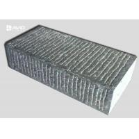 Rectangle Grey Limestone Paving Block Chiselled Surface For Walkways / Driveways