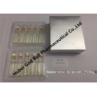Quality Nandrolone decanoate 400mg/ml 1ml/vial genuis quality steroid injection wholesale