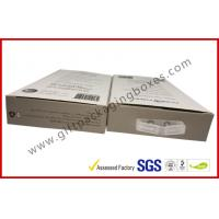 Quality 300gsm Paper Box Card Board Packaging With Clear Window And Blister wholesale