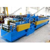 Quality Pre - Punching C Purlin Roll Forming Machine With Cr12 Steel Blade Heavy Duty wholesale