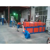 Quality Filler Masterbatch Plastic Granules Making Machine Twin Screw Extruder CE SGS wholesale