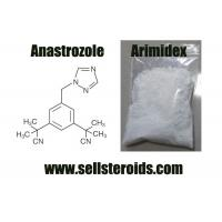 Buy cheap 120511-73-1 Pure Anastrozole / Arimidex For Breast Cancer Treatment from wholesalers