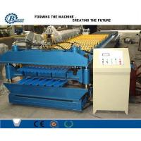 High Speed Color Metal Roof Double Layer Roll Forming Machine For Stadium