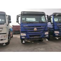 Quality SINOTRUK HOWO Heavy Dump Truck Middle Lifting System With EURO II Emission wholesale