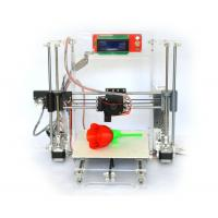 Quality Reprap Prusa I3 Clear Frame Full 3d Printer Kit with LCD Screen Gt2 Mk8 wholesale