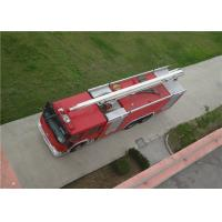 Quality Max Power 320KW Water Tower Fire Truck 20m Working Height With Mechanical Seal wholesale
