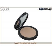 Waterproof Pressed Makeup Face Powder Matte Color Plastic Box Packing