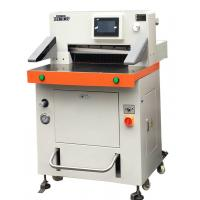 Quality DB-520V8 Programmed Hydraulic Paper Cutting Machine 520mm With Touch Screen wholesale