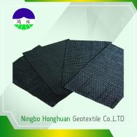 Quality Recycled / Virgin Geotextile Woven Fabric Pp 160kn Split Film For Railway Project wholesale