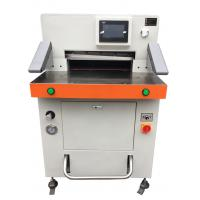 Quality Program Control Automatic Paper Cutting Machine 670mm High Accuracy wholesale
