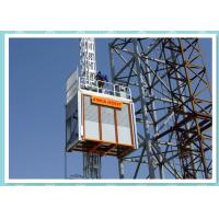 Quality Heavy Duty Construction Passenger Hoist , Material Lift And Elevator wholesale