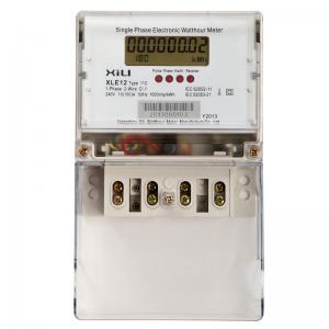 Quality Digital Single Phase Energy Meter wholesale