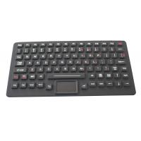 Buy cheap 89 Keys IP65 Dynamic Sealed Backlight illuminated Keyboard With Touchpad from wholesalers
