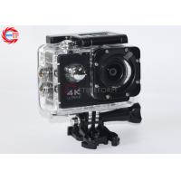 "Allwinner V3 Black 4k Sports Action Camera Waterproof 30m 2.0"" Display Wifi 60fps"