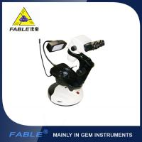 Quality Cup dolly Generation 2nd  Swing arm type Gem Microscope With F07 binocular lens wholesale