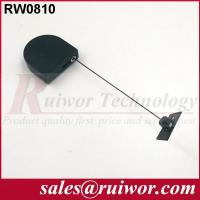 Quality Adhesive ABS Plate Display Security Tether D - Shaped For Purchase Security wholesale