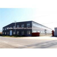Cheap Single Storey Steel Structure Warehouse Multifunctional Modular Design for sale