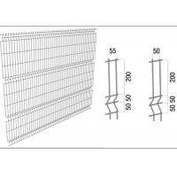 Quality Hot Galvanized Welded Mesh Fence Welded Steel Fence Triangle Bending wholesale