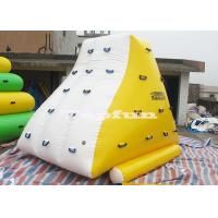 4m x 3m Yellow And White Inflatable Water Parks Mini Iceberg
