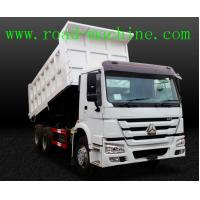 Quality Transport Blue / Yellow / Red HOWO 6 x 4 Dump Truck 25 ton ZZ3257N3647A wholesale