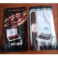 Quality custom printed laminated plastic cigar wraps packaging bag/Ziplock to open and close the bag easily wholesale