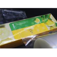 Quality Excellent Printability PVDC Coated BOPP Film PE / CPP Thermal Lamination wholesale