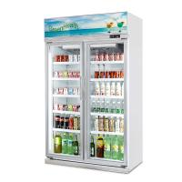 Buy cheap Supermarket Glass Door Soft Drink Display Refrigerator with Ce from wholesalers