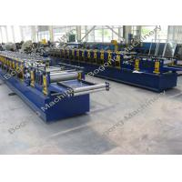 Quality Galvanized Steel Purlin Roll Forming Machine Size 9300 * 1400 * 1800mm wholesale