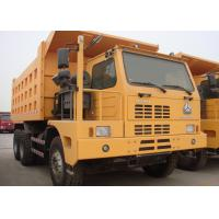 Quality Left Driving Heavy Dump Truck For Mining 420 HP Engine Power HF12 Front Axle wholesale