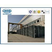 H Type Steel Condensing Heat Exchanger Economizer For Boiler With Coal Fuel
