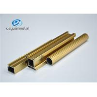 Cheap Standard Polishing Golden Extruded Aluminum Framing For Decoration GB5237.1-2008 for sale