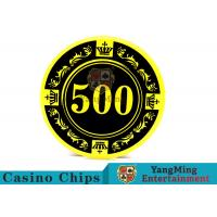 12g Colorful Casino Quality Poker ChipsWith Crown Screen Convenient To Carry
