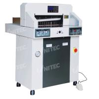 Quality 380.0kgs Hydraulic Computerized Paper Cutter 480mm Table Depth 480HP wholesale