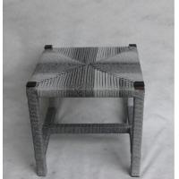 Classic Wicker rattan square Chair for indoor and outdoor