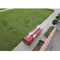 Quality Boom Extending Time ≤60s Huge Fire Truck With Italian AUTEC Wireless Remote Controller wholesale