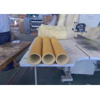 Quality Yellow 600 Degree High Temp Felt PBO Kevlar 5mm Used Inital Table wholesale