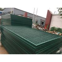 Quality Corrosion Resistance Mesh Wire Cross Square Pipe Frame Mountain Forest Fence wholesale