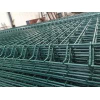 Quality Green Pvc Welded Wire Steel Mesh / Heavy Gauge Welded Wire Fence Acid Resisting wholesale