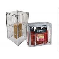 Outdoor Gas Cylinder Cages Safety Cages For Gas Bottles OEM / ODM Welcome