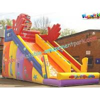 KidsLarge Commercial Durable  PVC tarpaulin Inflatable Slide Safety for Rent, Resale