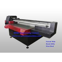 Quality Digital Uv Flatbed Printing Machine , Wide Format Flatbed Printer High Speed wholesale