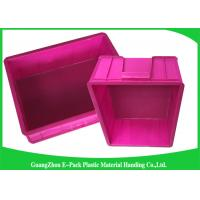 Quality Mini Load Euro Containers With Lids , Standard Plastic Stacking Boxes PP Materials wholesale