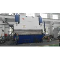 Buy cheap Electric CNC Hydraulic Sheet Metal Bending Brake 10 mm/s For Light Pole from wholesalers