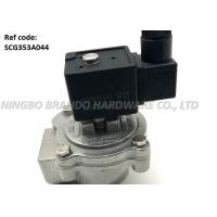 Quality 1 Inch Threaded Body Pneumatic Pulse Valve SCG353A044 With White TPE Diaphragm wholesale