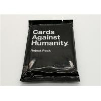 Paper Material Cards Against Humanity Reject Pack For Horrible People