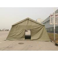 Quality Militar Army Big Oxford Canvas PVC Fabric Tent 20 People Capacity wholesale