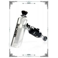 Quality Freezable Coil Hammer Bubblers Glass Bong Smoking Water Pipe 6 Tree Arms Perc Build A Bong wholesale