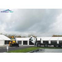 Buy cheap Steel Structure 20 X 20 Marquee Tent , Waterproof PVC White Wedding Tent from wholesalers